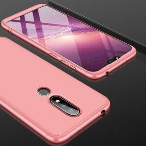 5 GKK Original Case for Nokia X6 2018 6 1 Plus Case 3 in 1 Design 360