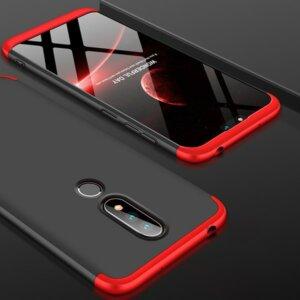 6 GKK Original Case for Nokia X6 2018 6 1 Plus Case 3 in 1 Design 360