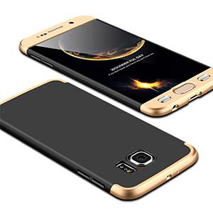 7 Luxury Hard Armor Case For Samsung Galaxy S6 S7 Edge G9200 G9250 Cover 360 Degree Full
