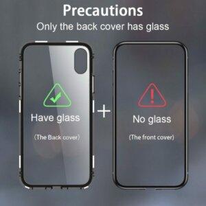 Case Magnetic Glass Vivo V9 Back min