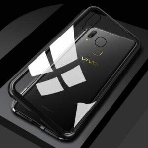 Case Magnetic Glass Vivo V9 Black min