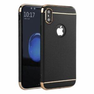 Winning Case 3 in 1 Luxury Plating iPhone X Black compressor