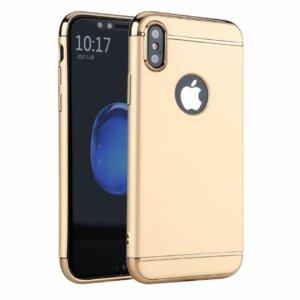 Winning Case 3 in 1 Luxury Plating iPhone X Gold compressor
