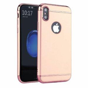 Winning Case 3 in 1 Luxury Plating iPhone X Rosegold compressor