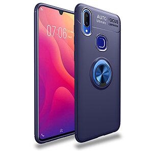 1 Phone Cases For VIVO Y95 Y91 With Finger Ring Magnetism Holder Business Back Cover For VIVO