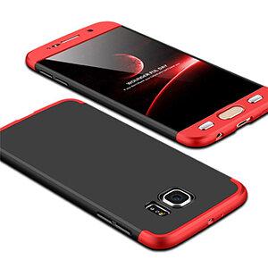 8 Luxury Hard Armor Case For Samsung Galaxy S6 S7 Edge G9200 G9250 Cover 360 Degree Full