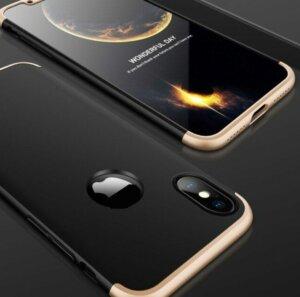 0 GKK Case For iPhone XS Max XR 360 Full Protection Cover Ring Holder Finger Grip