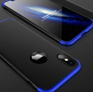 1 GKK Case For iPhone XS Max XR 360 Full Protection Cover Ring Holder Finger Grip