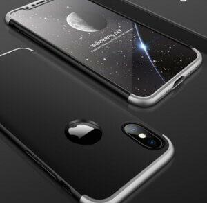 2 GKK Case For iPhone XS Max XR 360 Full Protection Cover Ring Holder Finger Grip