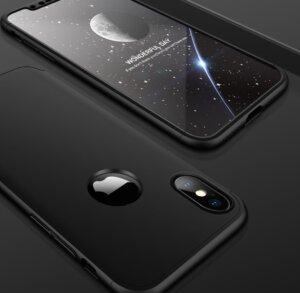 4 GKK Case For iPhone XS Max XR 360 Full Protection Cover Ring Holder Finger Grip