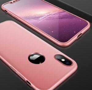 7 GKK Case For iPhone XS Max XR 360 Full Protection Cover Ring Holder Finger Grip
