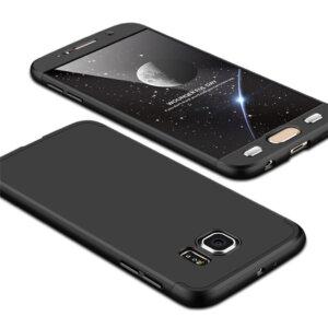 0 Luxury Hard Armor Case For Samsung Galaxy S6 S7 Edge G9200 G9250 Cover 360 Degree Full