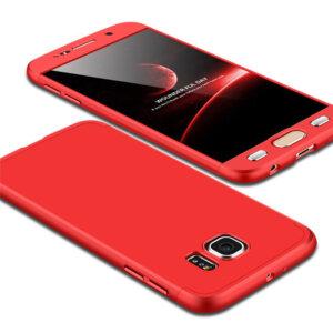 1 Luxury Hard Armor Case For Samsung Galaxy S6 S7 Edge G9200 G9250 Cover 360 Degree Full