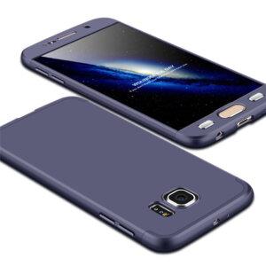 2 Luxury Hard Armor Case For Samsung Galaxy S6 S7 Edge G9200 G9250 Cover 360 Degree Full