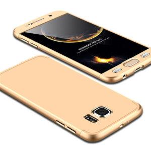 3 Luxury Hard Armor Case For Samsung Galaxy S6 S7 Edge G9200 G9250 Cover 360 Degree Full