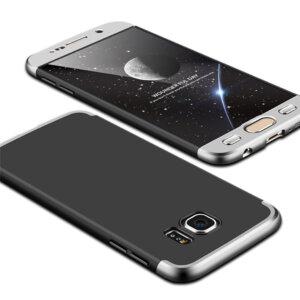 5 Luxury Hard Armor Case For Samsung Galaxy S6 S7 Edge G9200 G9250 Cover 360 Degree Full