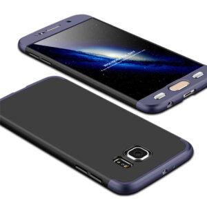 6 Luxury Hard Armor Case For Samsung Galaxy S6 S7 Edge G9200 G9250 Cover 360 Degree Full