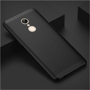 BONVAN-Heat-Dissipation-Cases-For-Xiaomi-Redmi-5-Plus-Full-Cover-Breathable-Matte-Shell-For-Xiaomi_Black