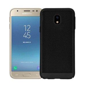 BONVAN-for-Samsung-Glaxy-J7-J5-J3-2017-Pro-Prime-Heat-Dissipation-Case-Hollow-Matte-Breathable_Black-min