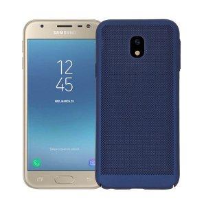 BONVAN-for-Samsung-Glaxy-J7-J5-J3-2017-Pro-Prime-Heat-Dissipation-Case-Hollow-Matte-Breathable_Blue-min