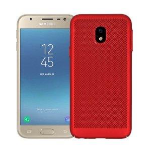 BONVAN-for-Samsung-Glaxy-J7-J5-J3-2017-Pro-Prime-Heat-Dissipation-Case-Hollow-Matte-Breathable_Red-min