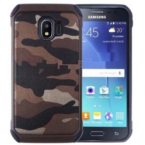 Case Army Samsung J4 2018 Brown