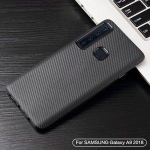 Case Carbon Fiber Samsung A9 2018 a