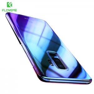 Case Floveme Transparen Aurora For Samsung S9 S9+BLUE