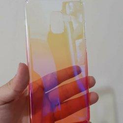 Case Samsung A8 A8 Plus Aurora Gradient Transparan3-min