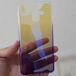 Case Samsung A8 A8 Plus Aurora Gradient Transparan4-min