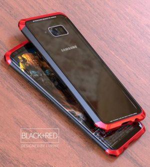 Case Sword Glass Blade Samsung S8 Red 2