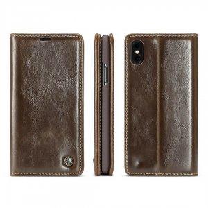 Caseme Leather iPhone X Brown