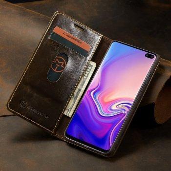 Caseme PU Leather Magnetic Case Samsung S10 / S10 Plus