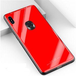 For-Xiaomi-Redmi-S2-Case-Redmi-S-2-Cover-Shockproof-Armor-Silicone-Soft-Tempered-Glass-Bumper_Red