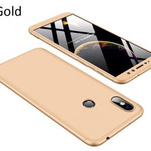 GKK-Case-For-Xiaomi-Redmi-S2-360-Full-Protection-Cover_Gold