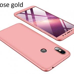 GKK-Case-For-Xiaomi-Redmi-S2-360-Full-Protection-Cover_Rose gold