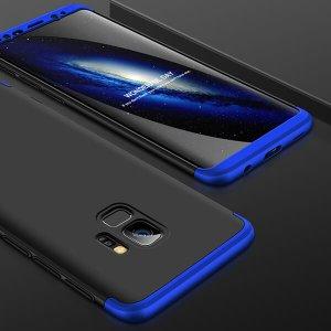 GKK-Original-Case-For-Samsung-Galaxy-S9-Case-Dual-Armor-360-Full-Protection-Hard-Hybrid-PC_Blue Black Blue