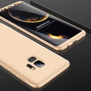 GKK-Original-Case-For-Samsung-Galaxy-S9-Case-Dual-Armor-360-Full-Protection-Hard-Hybrid-PC_Gold