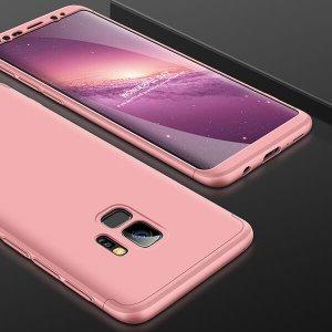 GKK-Original-Case-For-Samsung-Galaxy-S9-Case-Dual-Armor-360-Full-Protection-Hard-Hybrid-PC_Rose Gold