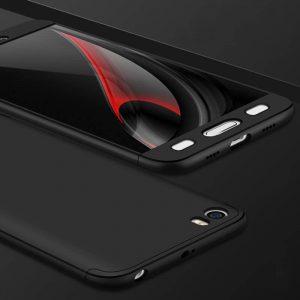 GKK-Xiaomi-Mi5-Phone-Case-Slim-Armor-Case-For-Xiaomi-5-5S-Case-Full-Protection-Thin_Black