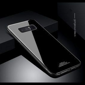 Glass Case Mirror Note 8 Black
