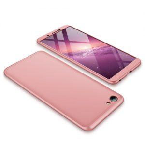HYYGEDeal-Phone-GKK-3-in-1-360-Degree-Full-boby-Protection-Shockproof-case-cover-For-BBK_Pink