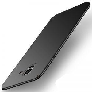 MAKAVO-For-Samsung-Galaxy-A8-2018-Case-Slim-Matte-Hard-Back-Cover-For-Samsung-Galaxy-A8_Black