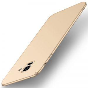 MAKAVO-For-Samsung-Galaxy-A8-2018-Case-Slim-Matte-Hard-Back-Cover-For-Samsung-Galaxy-A8_Gold
