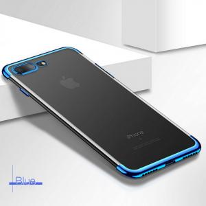 Neon Light iPhone Biru