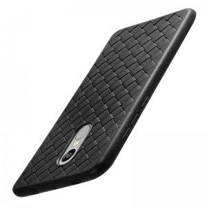 Proelio-Ultra-Thin-Soft-Silicone-Weave-Case-For-Xiaomi-Redmi-4X-5X-Note-4-5A-Protector_Black
