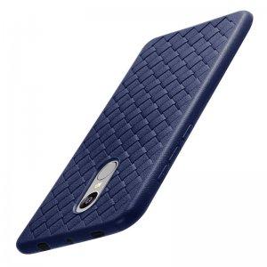 Proelio-Ultra-Thin-Soft-Silicone-Weave-Case-For-Xiaomi-Redmi-4X-5X-Note-4-5A-Protector_Blue