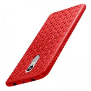 Proelio-Ultra-Thin-Soft-Silicone-Weave-Case-For-Xiaomi-Redmi-4X-5X-Note-4-5A-Protector_Red