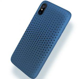 ROCK Dot Series TPU SoftCase Blue