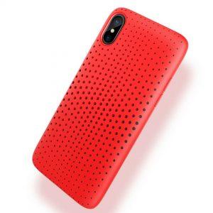 ROCK Dot Series TPU SoftCase Red